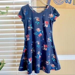 Disney Girl's Ariel Sparkle Twirl Dress